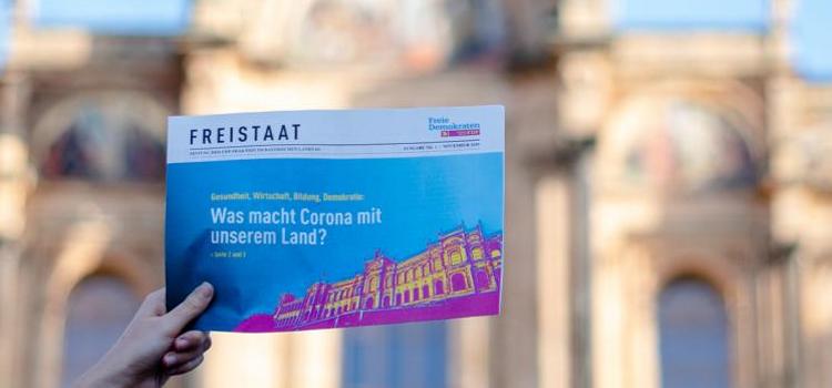 """FDP-Fraktion launcht Zeitung """"Freistaat"""""""
