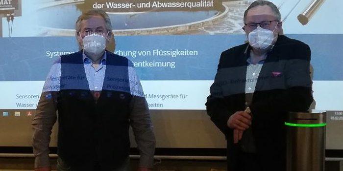 """MdL Albert Duin besucht """"Luftentkeimer""""-Firma GIMAT in Polling"""