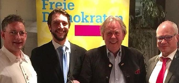 Politik und Wein bei der FDP
