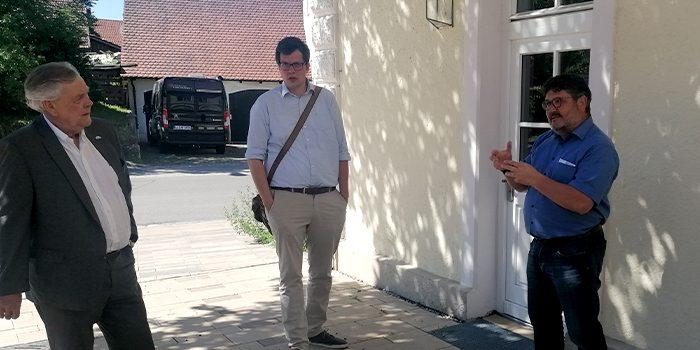 FDP informiert sich im Fuchstal